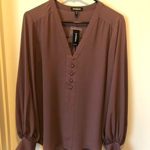 NWT! Express long sleeved blouse